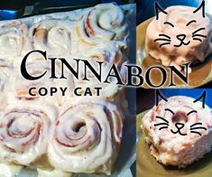 Cinnabon Copy Cat Cinnamon Rolls - Want to know how to make Cinnabon cinnamon rolls? I just posted a guide on Instructables to show you how! It's in two contests (a baking contest and a copycat contest) and I'd be super grateful if you'd vote for it! Thanks!