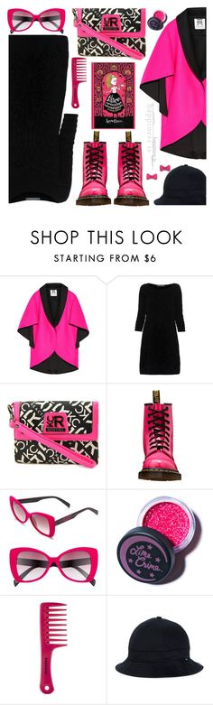 """""""Wonderland"""" by the-reluctant-dragon ❤ liked on Polyvore featuring Milly, Alberta Ferretti, Kenneth Cole Reaction, Dr. Martens, Italia Independent, Lime Crime, Sephora Collection and Marc by Marc Jacobs"""