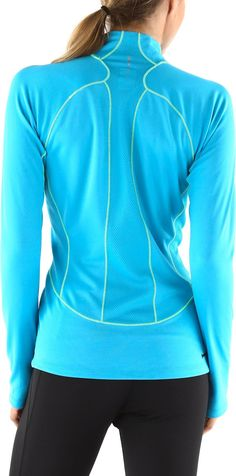 Perfect for training when it gets chilly—Women's The North Face Impulse Active Quarter-Zip Top.