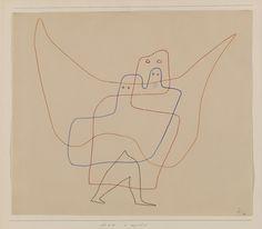 Paul Klee. In Angel's Care (In Engelshut). 1931