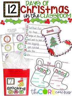 Celebrate fun, themed activities in the classroom with Stocking Day!