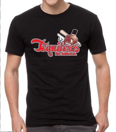 Baseball Men's T-Shirt Tequileros de Jalisco (Black) (2X-Large) -- Awesome products selected by Anna Churchill