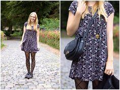 H&M Dress, Asos Shoes, Bree Bag, H&M Blazer