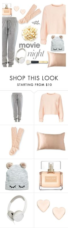 """""""،MOVIE NIGHT"""" by omniaasaad ❤ liked on Polyvore featuring Miss Selfridge, Aéropostale, Donna Karan, Givenchy, Ted Baker and Bobbi Brown Cosmetics"""
