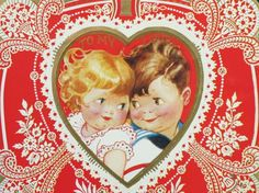 I love vintage valentines! They just don't make 'em like this anymore! <3