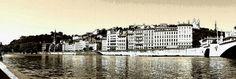 Rhône et vieux Lyon Rhone, New York Skyline, Travel, Viajes, Destinations, Traveling, Trips