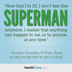 Read Ernesto's #GetCovered Story: http://www.hhs.gov/healthcare/facts/blog/2014/03/ernestos-enrollment-story.html.