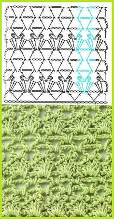 Pretty stitch chart - would work really well for a lacy stole or shawl.