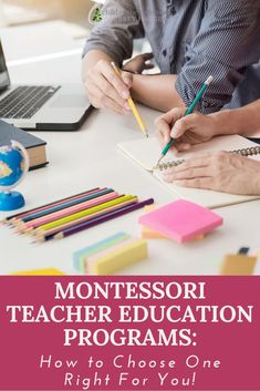 There are so many amazing options available to folks who want to become Montessori teachers! Here are some ways to Montessori Homeschool, Montessori Classroom, Teacher Education Program, Training Center, Activities, Children, Amazing, Fun, Inspiration