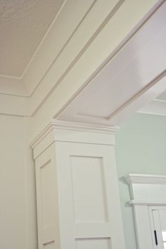 Image result for hiding ductwork in decorative beams and columns