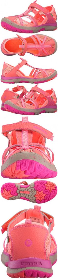 Merrell Hydro Monarch Water Sandal (Toddler/Little Kid/Big Kid), Coral, 10 M US Toddler