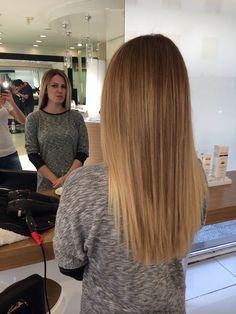 Balayage hair , hairstyle , straight hair