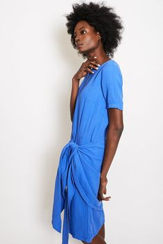 Atelier Delphine Lake Dress / Cobalt Blue – P A R C
