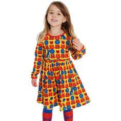 Scandinavian Baby, Yellow Dress, Dress Skirt, Kids Outfits, Bird, Summer Dresses, Cats, Sweden, Skirts