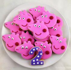 Peppa Pig Cookies - $28.00/dozen