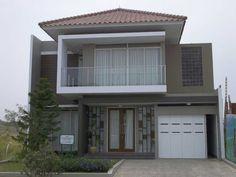 contoh pintu garasi rumah minimalis