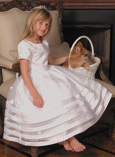 Vestidos para niñas de Primera Comunión   De todo Niños
