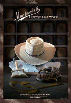 """World Famous Montecristi Custom Hat Works. The art of a custom panama hat in Santa Fe, NM."""