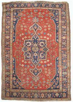 Sarouk Fereghan rug   west persia, circa 1900   6 ft. 10 in. x 4 ft. 1 in.   - FREEMAN'S