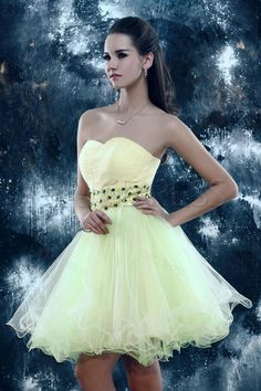 Elegant A-line Sweetheart Short Sandra's Dress#Sweet#