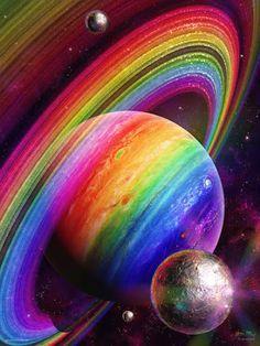 UNIVERSE 1065 SATURN Rainbow Universe ☺❤