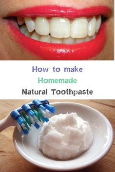 How to make Homemade Natural Toothpaste #tindari #sicilia #sicily