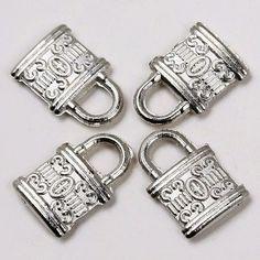 Vintage Antique Tibetan Silver Cross Anchor Heart Charms Pendants Beads Findings | eBay