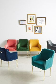 Bookmark this to find 11 mid-century statement chairs you can buy for under $500.