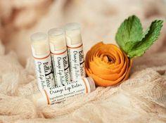 All Natural Orange Lip Balm