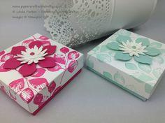 3 x 3 x1  box (Thove's Box) Stampin Up