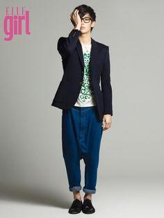 Kim Soo Hyun for Elle Girl