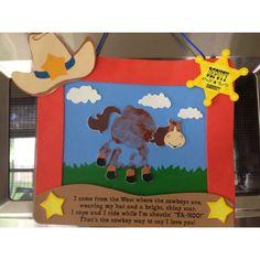 western preschool crafts, cowboy crafts preschool, western crafts preschool, preschool cowboy crafts, horse crafts, craft ideas, cowboy preschool crafts