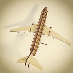 Quebra-cabeça 3D. Avião de MDF cortado a laser! #mdf #cortelaser #lasercut #lasercutting #aviao #airbus #boeing #instaflight #flight #miniatura #puzzle  #3dpuzzle #quebracabeca #quebracabeca3d #lcllaser by lcllaser