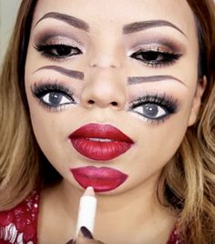 this trippy halloween makeup tutorial will blow your mind