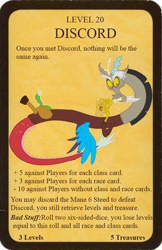 MLP Munchkin - Discord by Theorak on DeviantArt Diy Games, Custom Cards, Discord, Mlp, Game Room, Kids Playing, Board Games, Nerd, Geek Stuff