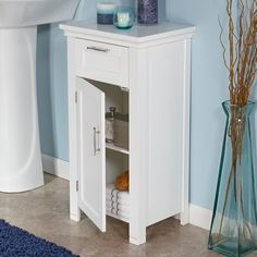 """Somerset 16"""" x 30"""" Free Standing Cabinet"""