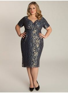 Plus Size Lace Dress ~ Plus Size Fashion ~ Plus Size Clothing at www.curvaliciousclothes.com Sizes 12-32