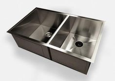 New Zero Radius Sink Wins The Kitchen Show. New design eliminates the dirty seam around the drain.