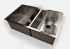 New Zero Radius Sink Wins The Kitchen Show. New design eliminates the dirty seam around the drain.
