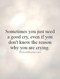 Afbeeldingsresultaat voor sometimes i just want to cry quotes