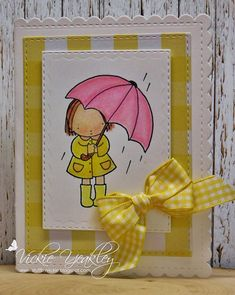 SSMISMar Pink Umbrella vky by Vickie Y - at Splitcoaststampers