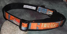Adjustable Dog Collar from recycled Deschutes Twilight Summer Ale beer labels by squigglechick, $18.00