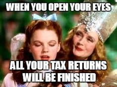 We may not have red slippers for you, but we can make those tax returns finished in a flash at Red Fox Tax Services! (redfoxtaxservices.com)