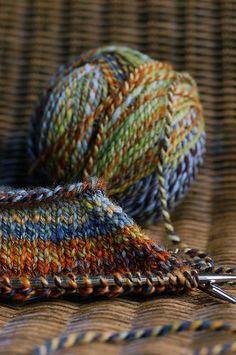 """Spicery"" colorway by Hello Yarn handspun Knitting Yarn, Knitting Patterns, Crochet Patterns, Yarn Projects, Knitting Projects, Spinning Wool, Yarn Thread, Knit Or Crochet, Yarn Crafts"