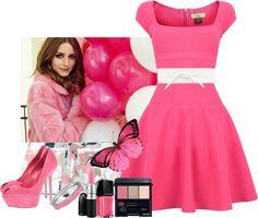 """""""pink"""" by missteacherlady on Polyvore"""