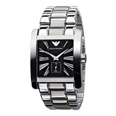 emporio armani ar0115 mens classic stainless steel watch uk on emporio armani ar0181 mens quartz stainless steel bracelet watch uk on armaniemporiowatches co