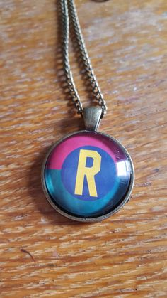 Robin Themed Necklace by AwesomeOddities on Etsy
