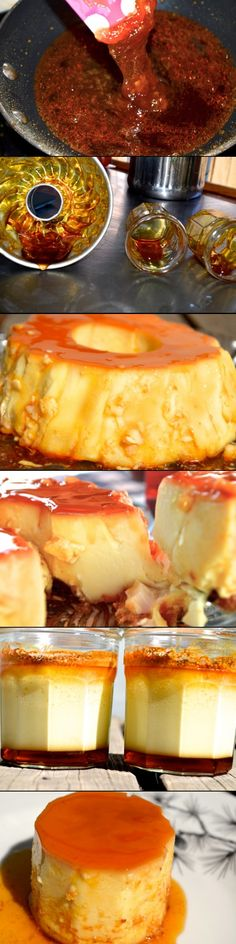 Brazilian Flan!... - a grouped images pin by Pinthemall.net - Pin Them All