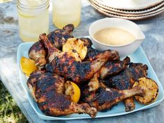 Get Sunny's Easy Spice-Rubbed Chicken with Citrus-Honey Glaze Recipe from Food Network Grilled Chicken, Tandoori Chicken, Grilled Food, Bbq Chicken, Chicken Wings, Classic Potato Salad, Food Network Recipes, Gumbo Recipe Food Network, Amigurumi