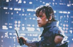 Luke in The empire strikes back